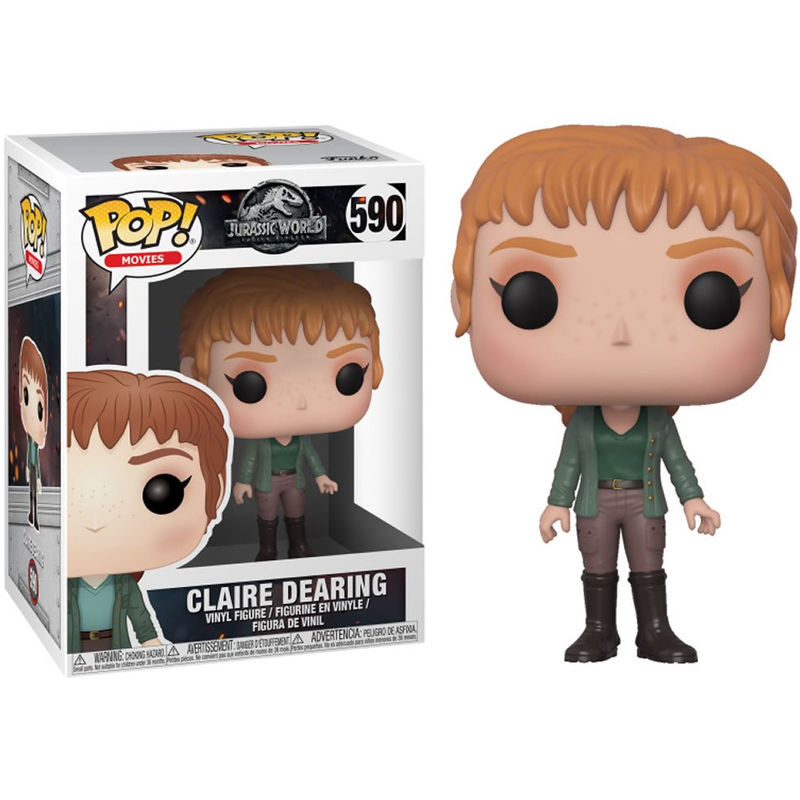 Photo du produit FIGURINE FUNKO POP JURASSIC WORLD FALLEN KINGDOM CLAIRE