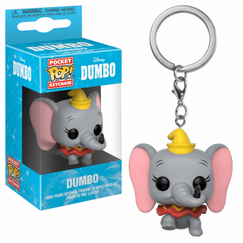 Photo du produit DUMBO PORTE-CLÉS POCKET POP! VINYL DUMBO