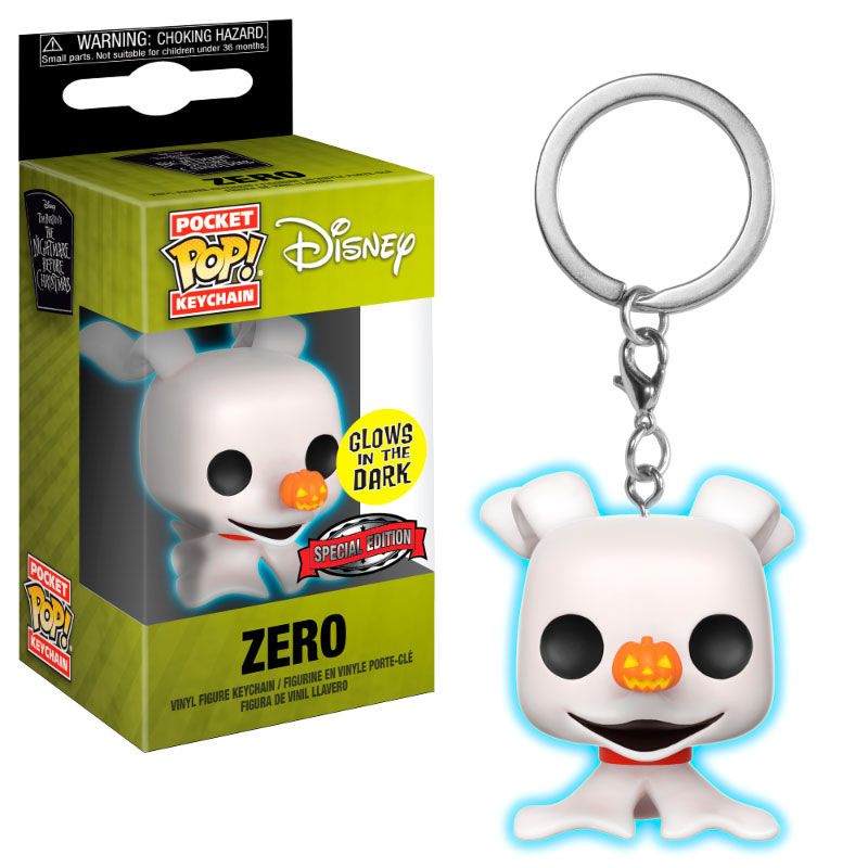 Photo du produit PORTE CLE POCKET POP DISNEY NIGHTMARE BEFORE CHRISTMAS NBX ZERO EXCLUSIVE