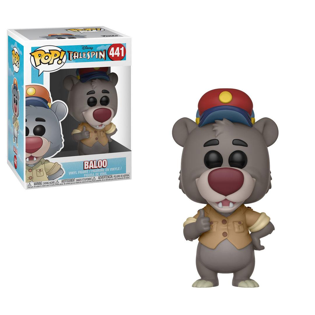 Photo du produit DISNEY TALESPIN SUPER BALOO FUNKO POP BALOO
