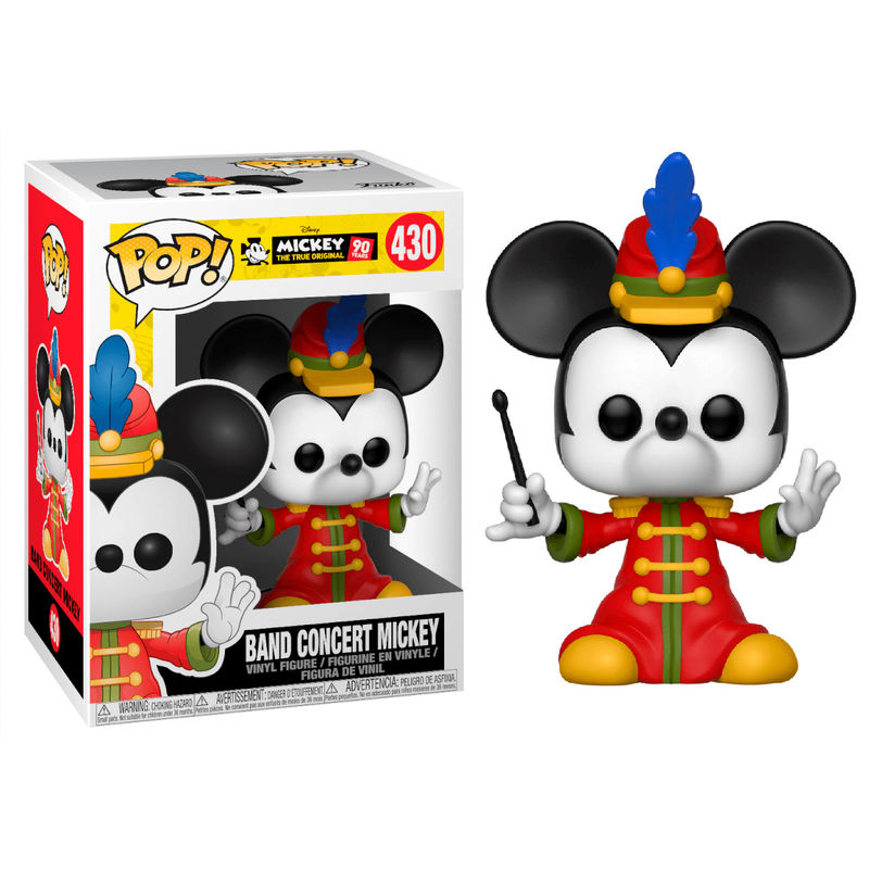 Photo du produit FIGURINE FUNKO POP DISNEY MICKEY'S 90TH BAND CONCERT