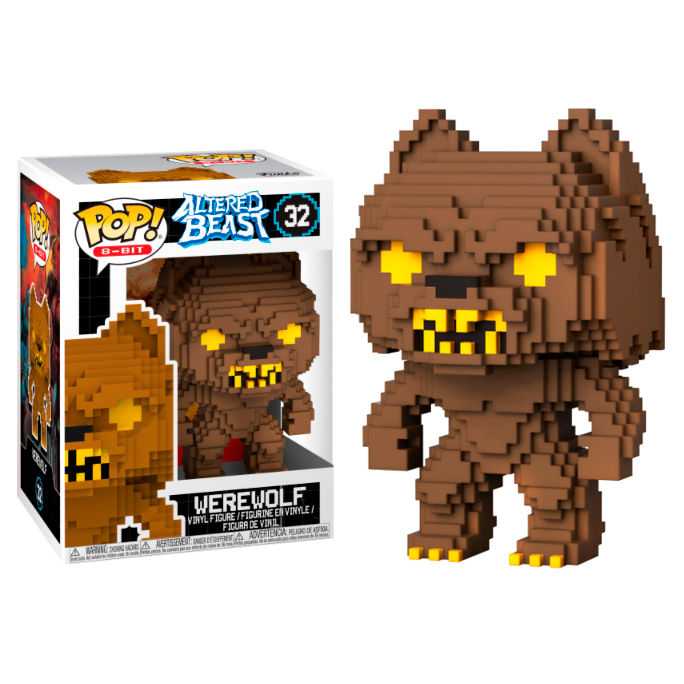 Photo du produit FIGURINE FUNKO POP 8-BIT ALTERED BEASTS-GREEK WARRIOR WEREWOLF