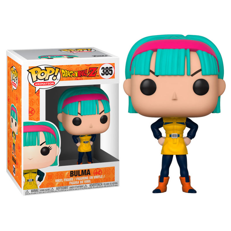 Photo du produit FUNKO POP DRAGONBALL Z BULMA SERIES 4