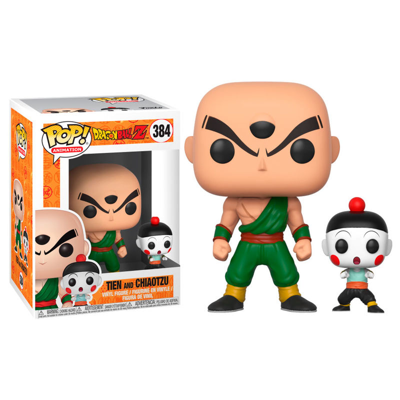 Photo du produit FUNKO POP DRAGONBALL Z CHIAOTZU & TIEN SERIES 4