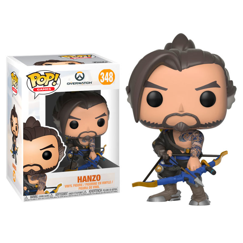 Photo du produit FUNKO POP OVERWATCH HANZO SERIES 4