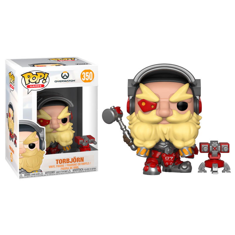 Photo du produit FUNKO POP OVERWATCH TORBJÖRN SERIES 4