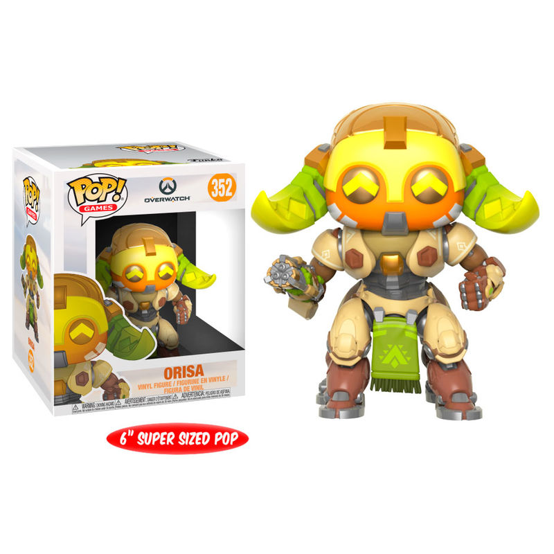 Photo du produit FUNKO POP OVERWATCH ORISA SERIES 4 OVERSIZED 15 CM