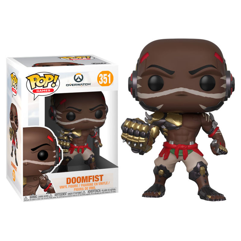 Photo du produit FUNKO POP OVERWATCH DOOMFIST SERIES 4
