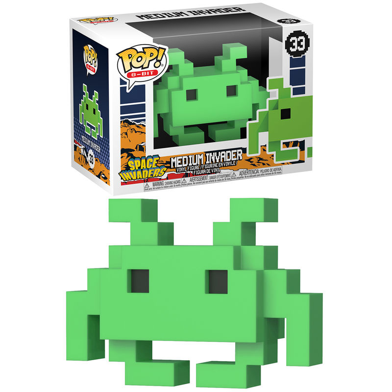Photo du produit FUNKO POP 8-BIT RETRO SPACE INVADERS MD INVADER
