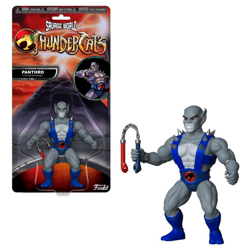 Photo du produit FIGURINE COSMOCATS SAVAGE WORLD PANTHRO