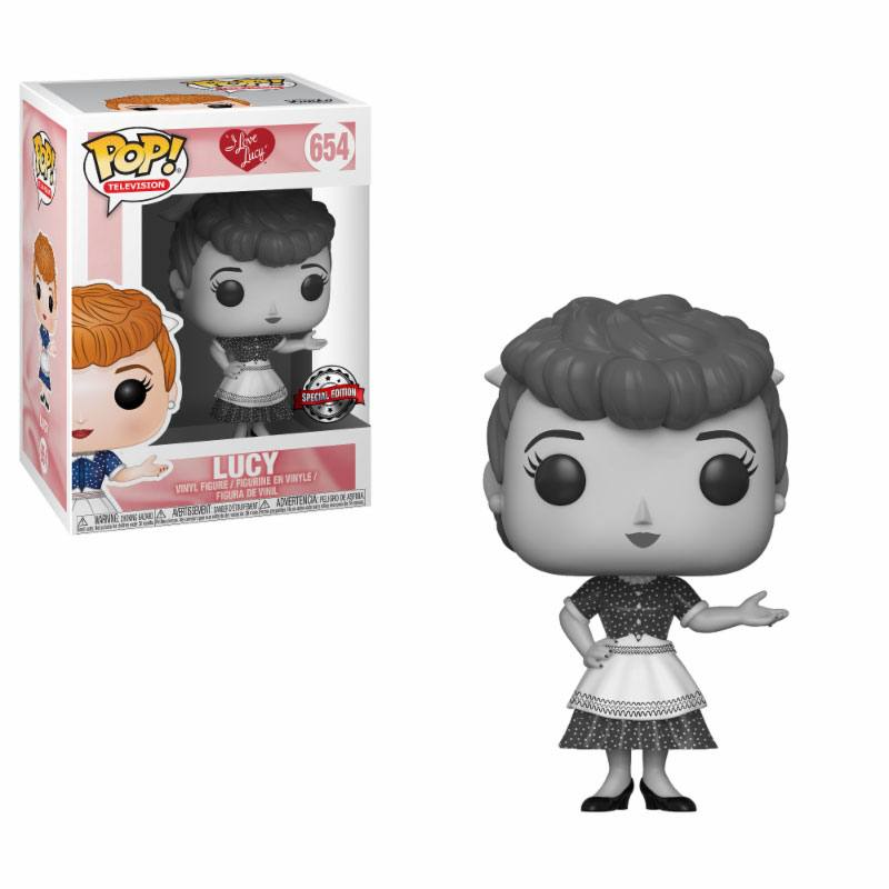 Photo du produit I LOVE LUCY POP! TV VINYL FIGURINE LUCY B&W TARGET EXCLUSIVE