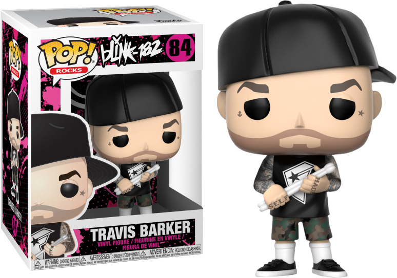 Photo du produit FUNKO POP BLINK 182 TRAVIS BARKER