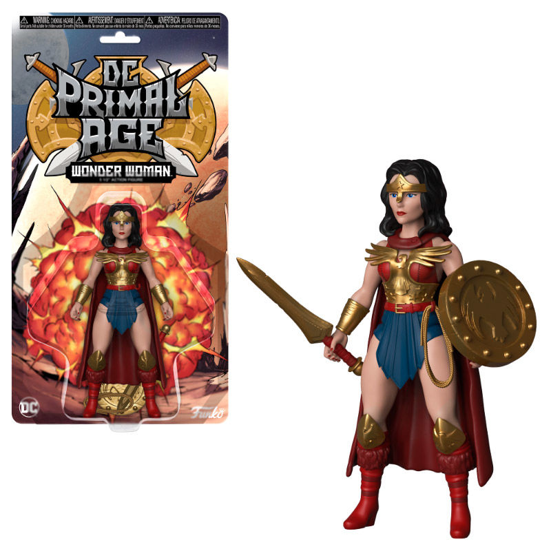 Photo du produit FIGURINE DC PRIMAL AGE FIGURINE WONDER WOMAN 13 CM