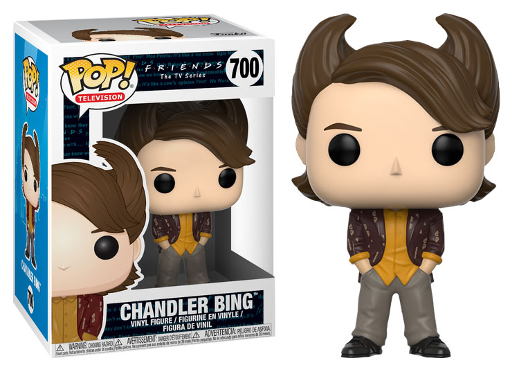 Photo du produit FUNKO POP FRIENDS 80S HAIR CHANDLER BING