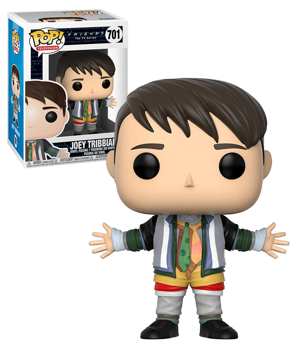 Photo du produit FUNKO POP FRIENDS 80S JOEY TRIBBIANI IN CHANDLERS CLOTHES