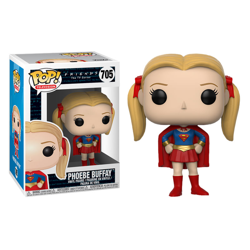 Photo du produit FUNKO POP FRIENDS PHOEBE BUFFAY AS SUPERGIRL