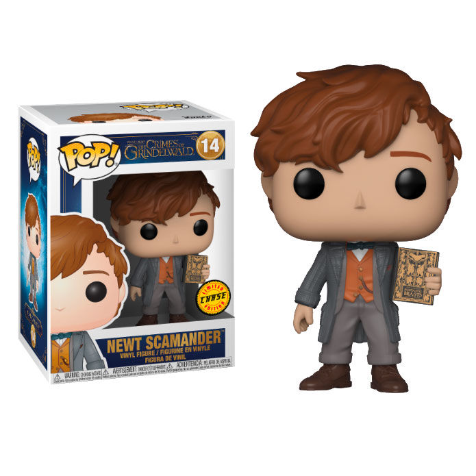 Photo du produit FUNKO POP FANTASTIC BEASTS 2 THE CRIMES OF GRINDELWALD NEWT SCAMANDER CHASE EXCLUSIVE