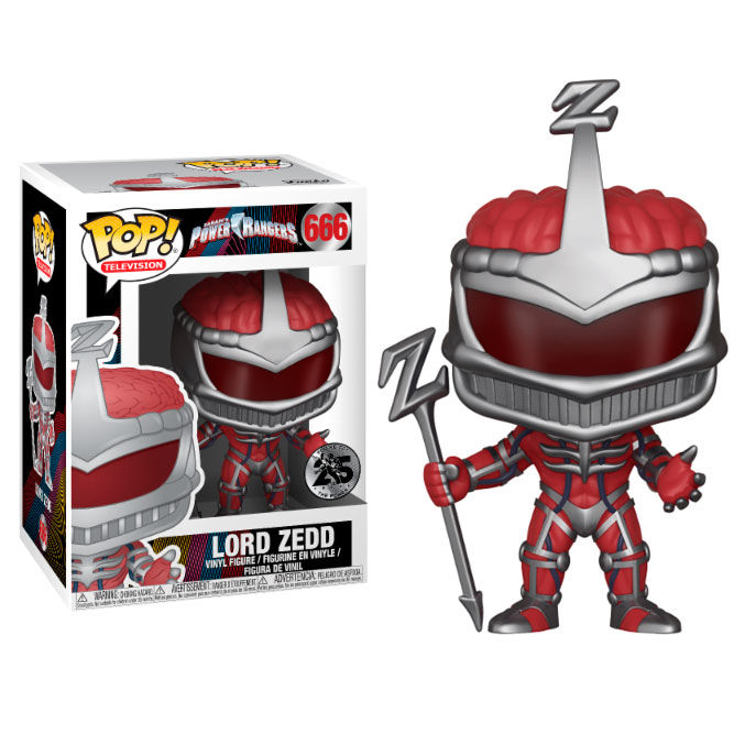 Photo du produit FUNKO POP POWER RANGERS LORD ZEDD