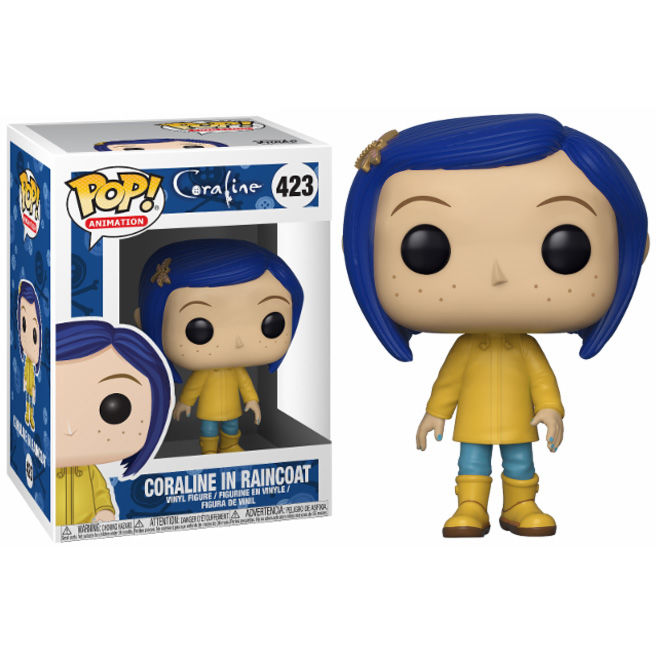 Photo du produit FIGURINE FUNKO POP CORALINE IN RAINCOAT