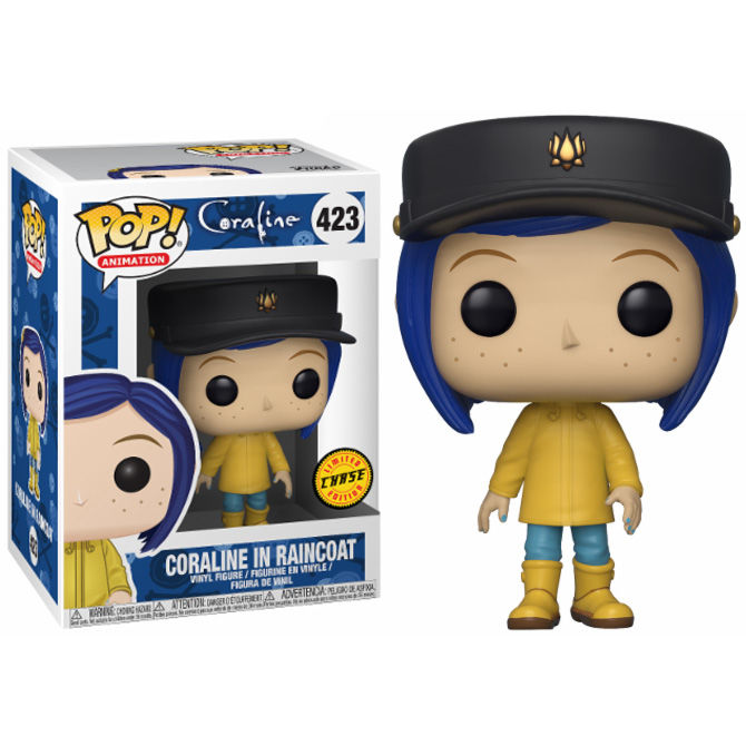 Photo du produit FUNKO POP CORALINE RAINCOAT CHASE EXCLUSIVE