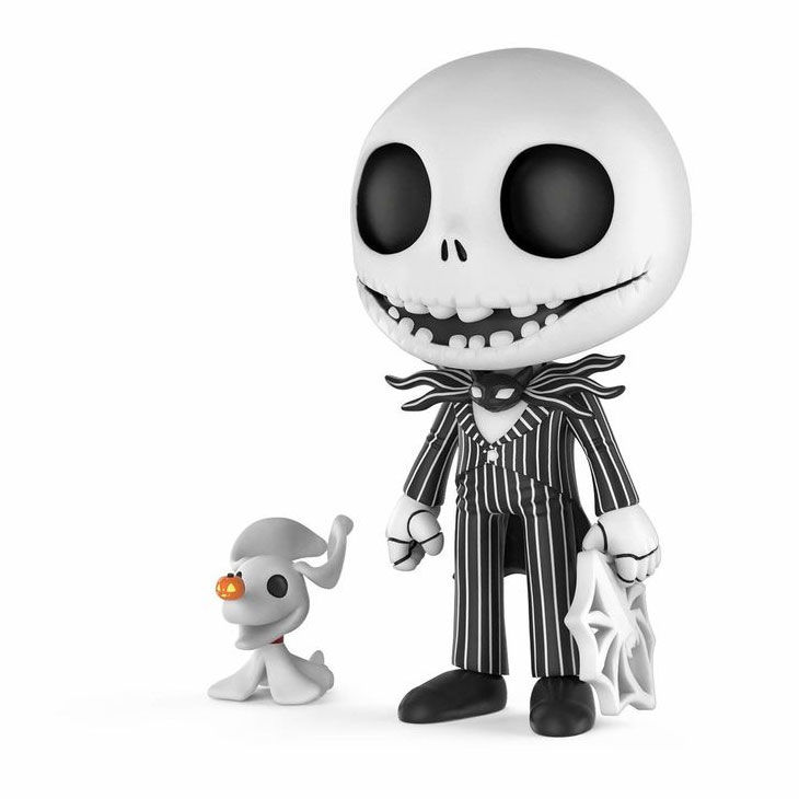 Photo du produit L'ETRANGE NOEL DE MR. JACK FIGURINE 5 STAR JACK SKELLINGTON 9 CM