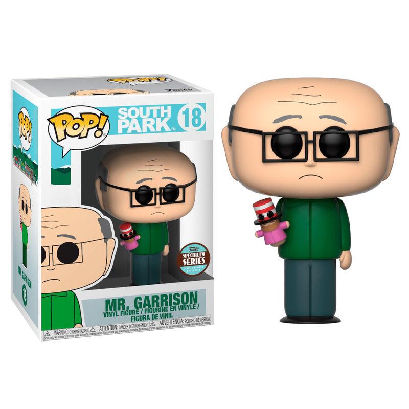 Photo du produit FUNKO POP SOUTH PARK MR. GARRISON EXCLUSIVE SPECIALTY SERIES