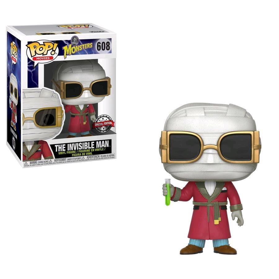 Photo du produit UNIVERSAL MONSTERS FIGURINE FUNKO POP THE INVISIBLE MAN