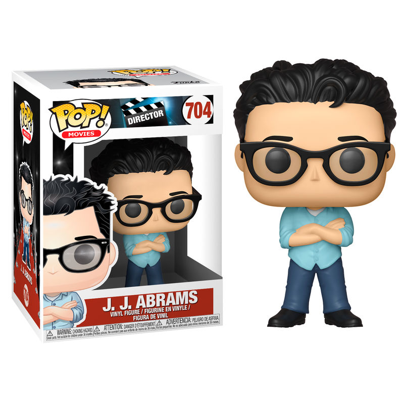 Photo du produit FIGURINE FUNKO POP J.J. ABRAMS
