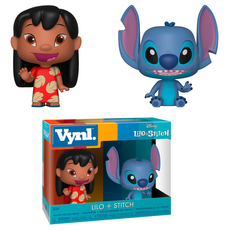 Photo du produit FIGURINES VYNL DISNEY LILO & STITCH