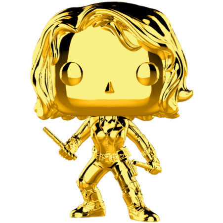 Photo du produit FUNKO POP MARVEL STUDIOS 10 BLACK WIDOW GOLD CHROME