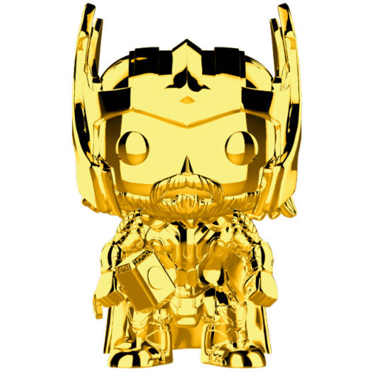 Photo du produit FUNKO POP MARVEL STUDIOS 10 THOR GOLD CHROME