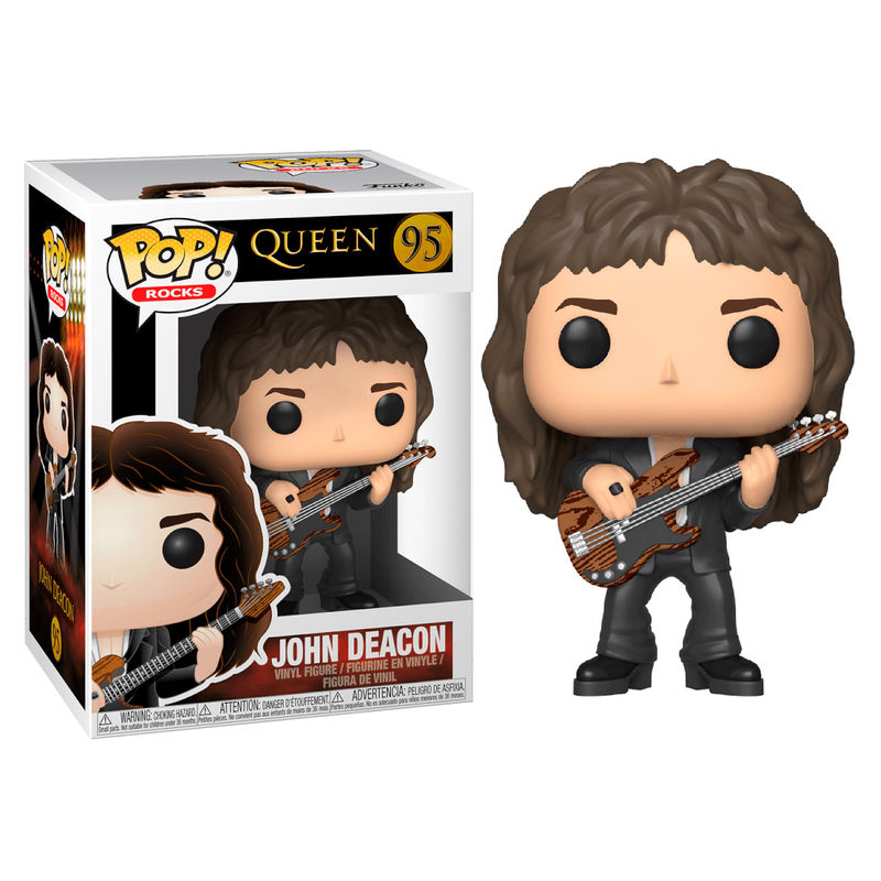 Photo du produit FIGURINE FUNKO POP QUEEN JOHN DEACON