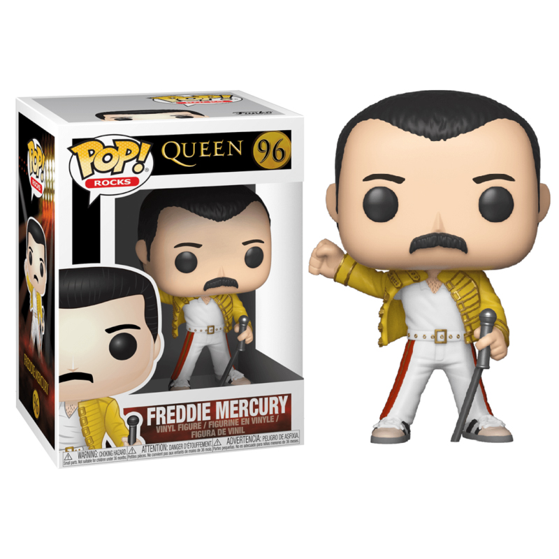 Photo du produit FIGURINE FUNKO POP QUEEN FREDDY MERCURY WEMBLEY 1986