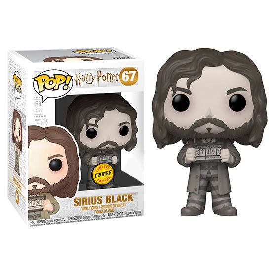 Photo du produit FIGURINE FUNKO POP HARRY POTTER SIRIUS BLACK EXCLUSIVE CHASE