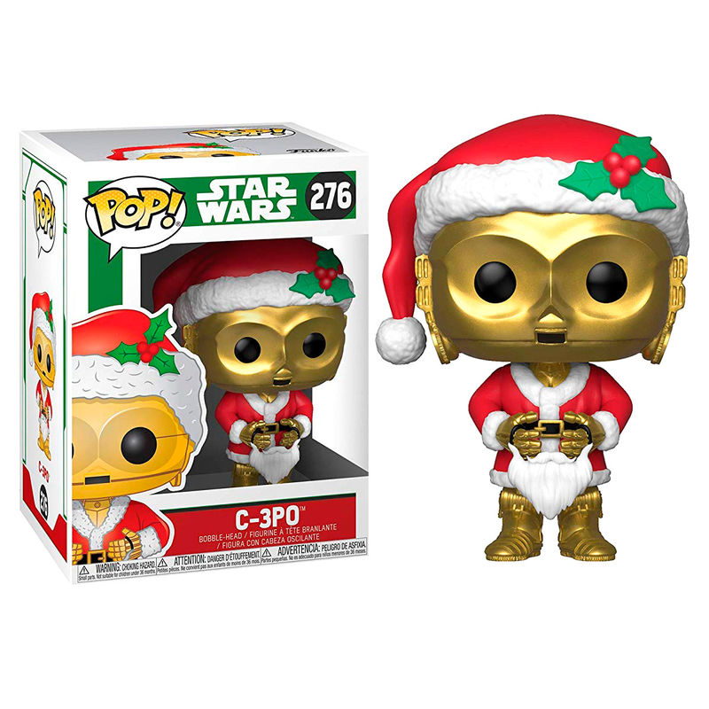 Photo du produit FUNKO POP STAR WARS HOLIDAY C-3PO AS SANTA