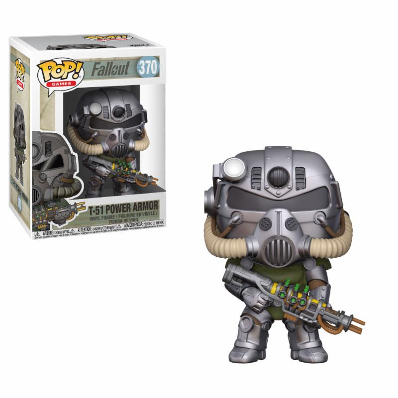Photo du produit FALLOUT FIGURINE POP! GAMES VINYL T-51 POWER ARMOR 9 CM