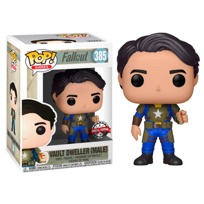 Photo du produit FUNKO POP FALLOUT VAULT DWELLER WITH MENTATS SERIES 2 EXCLUSIVE