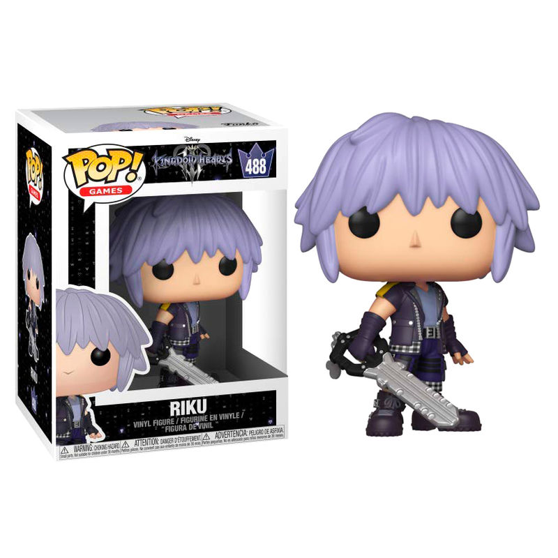 Photo du produit KINGDOM HEARTS 3 FIGURINE POP! DISNEY VINYL RIKU