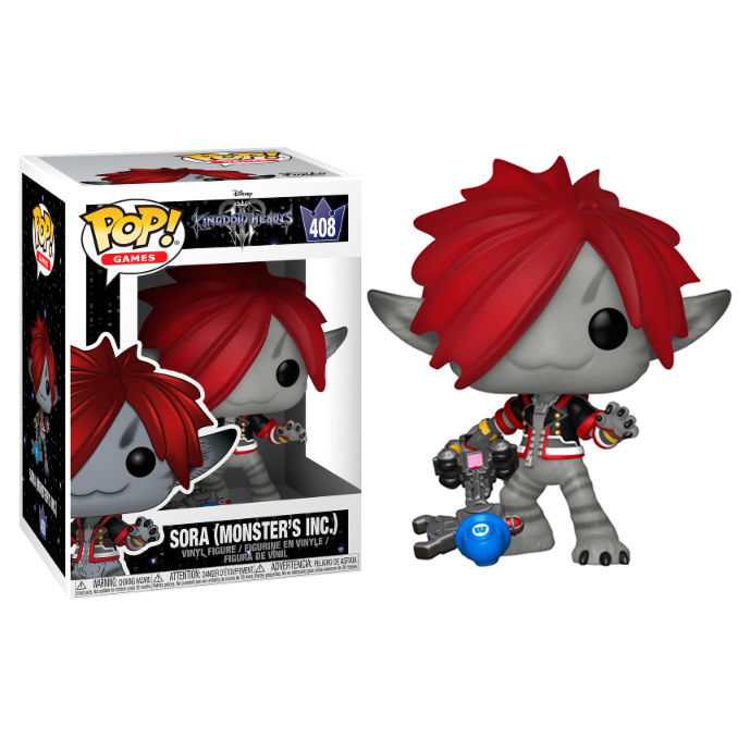 Photo du produit FIGURINE FUNKO POP DISNEY KINGDOM HEARTS 3 SORA MONSTERS INC.
