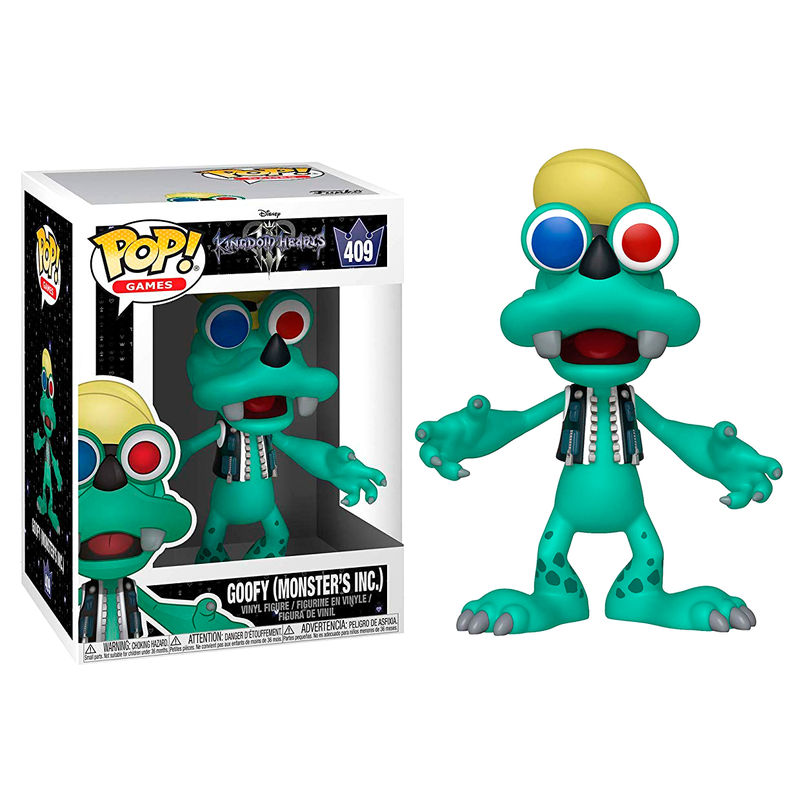 Photo du produit FIGURINE FUNKO POP DISNEY KINGDOM HEARTS 3 GOOFY MONSTERS INC.