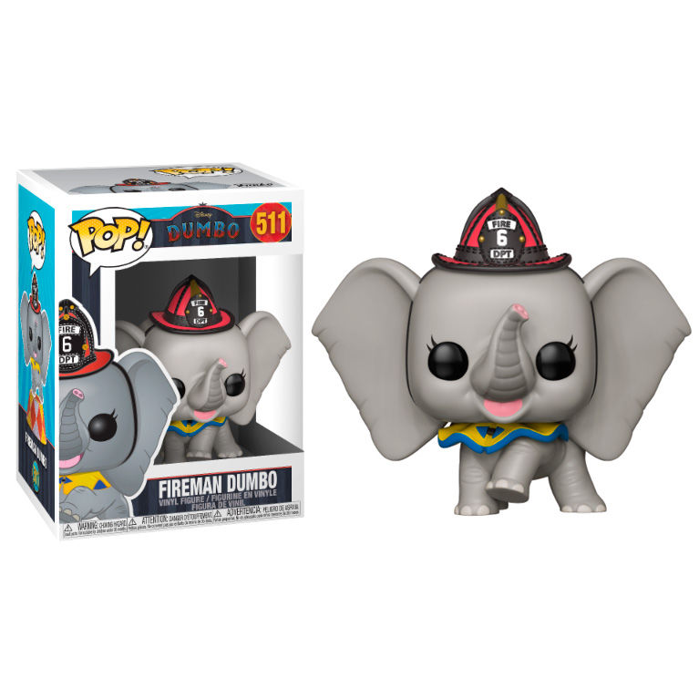 Photo du produit DUMBO POP! DISNEY VINYL FIGURINE FIREMAN DUMBO