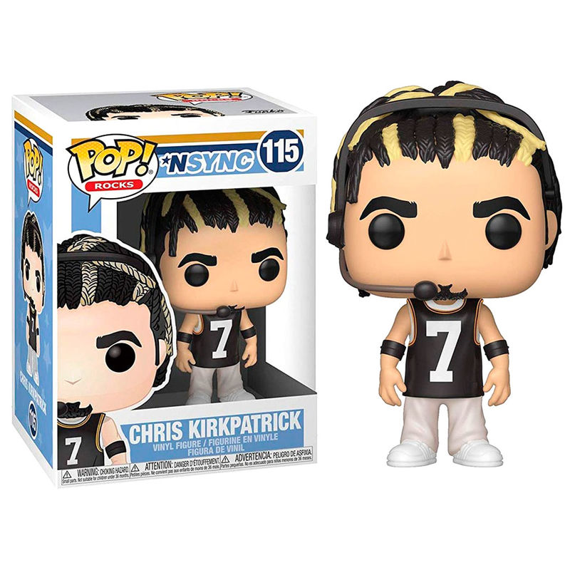 Photo du produit NSYNC FUNKO POP! ROCKS CHRIS KIRKPATRICK