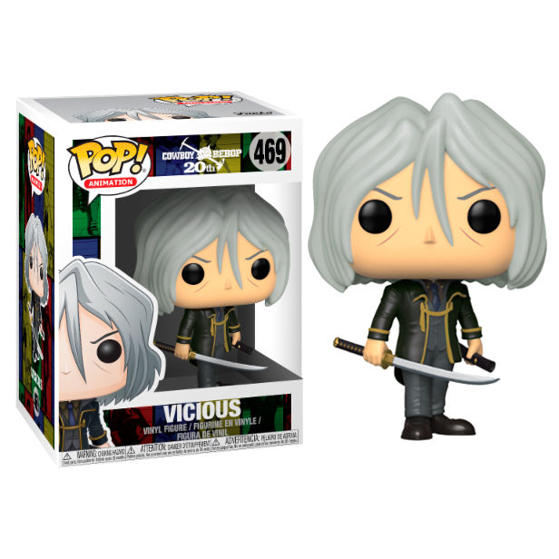 Photo du produit COWBOY BEBOP FIGURINE POP! ANIMATION VINYL VICIOUS