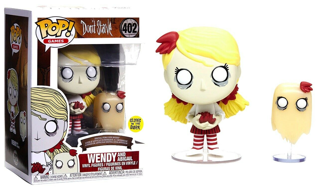 Photo du produit DON'T STARVE FUNKO POP! WENDY & ABIGAIL