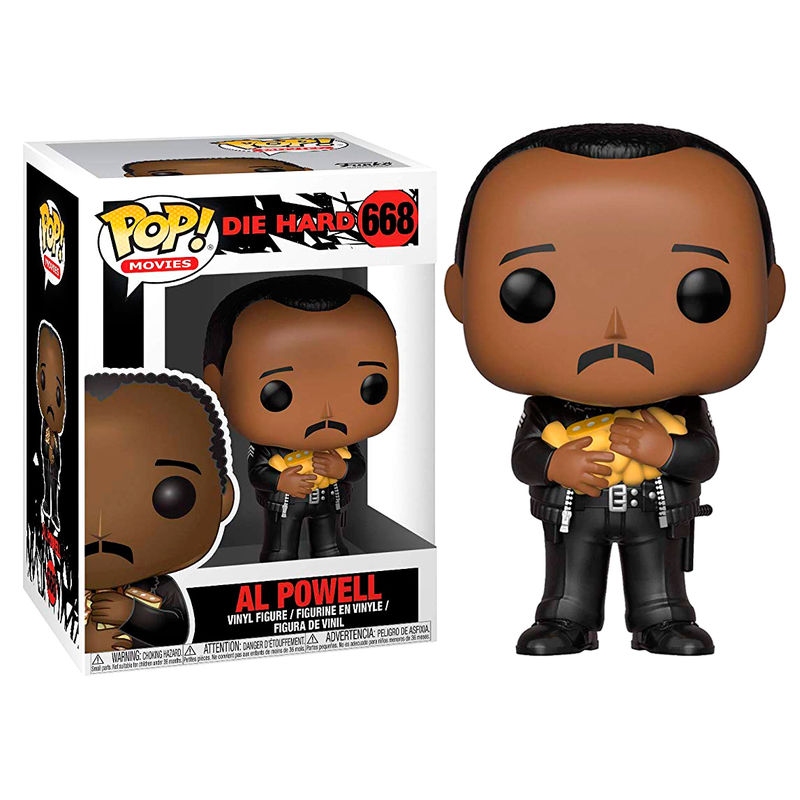 Photo du produit PIÈGE DE CRISTAL FUNKO POP! AL POWELL