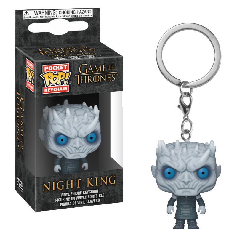 Photo du produit PORTE CLE GAME OF THRONES POCKET POP! NIGHT KING