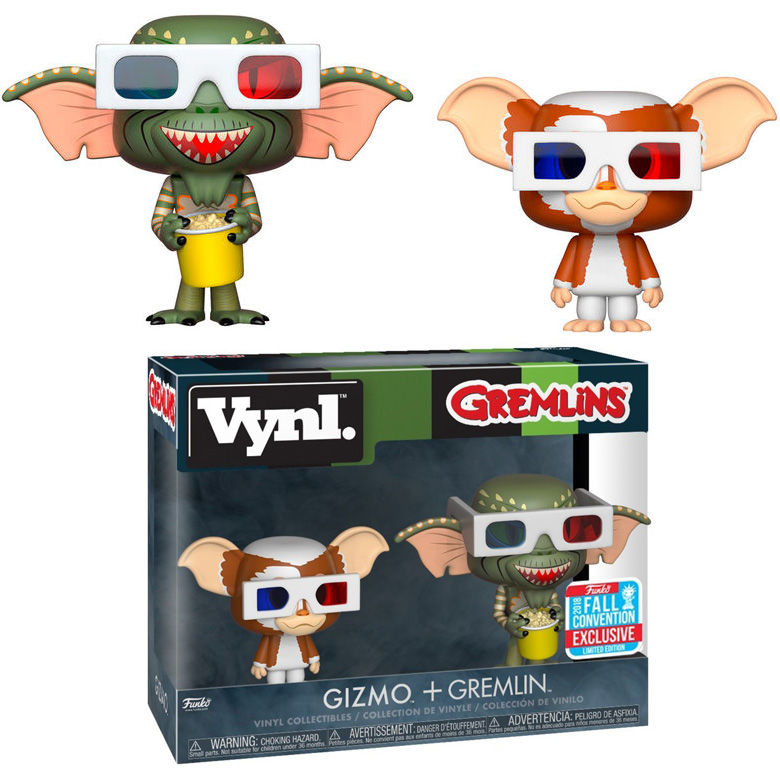 Photo du produit FUNKO VYNL GREMLINS GIZMO & GREMLIN EXCLUSIVE