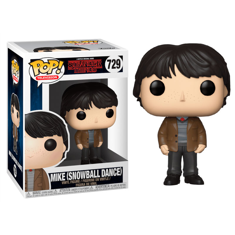 Photo du produit FIGURINE POP STRANGER THINGS MIKE SNOWBALL DANC