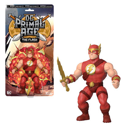 Photo du produit FIGURINE DC PRIMAL AGE FIGURINE THE FLASH 13 CM