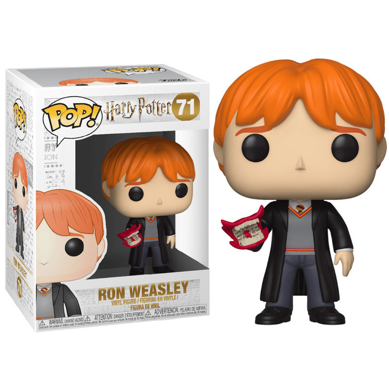 Photo du produit FIGURINE FUNKO POP HARRY POTTER RON WEASLEY WITH HOWLER